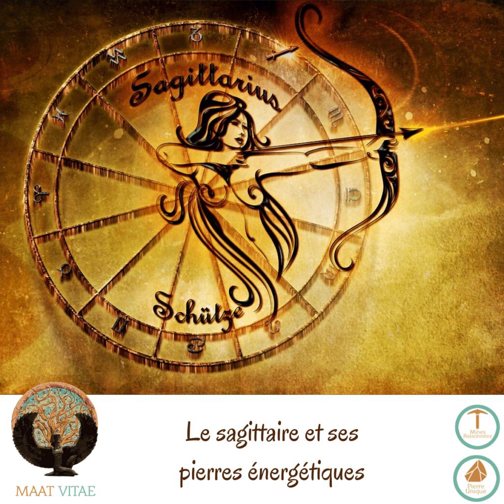 Sagittaire - Signe du zodiaque - Signe Astrologique et pierres énergétiques