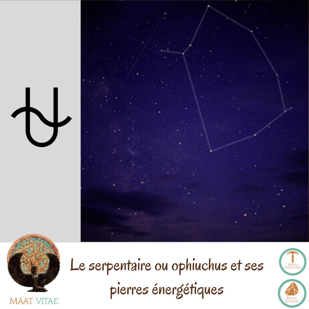 Serpentaire - Ophiuchus - Signe du zodiaque - Signe Astrologique et pierres énergétiques