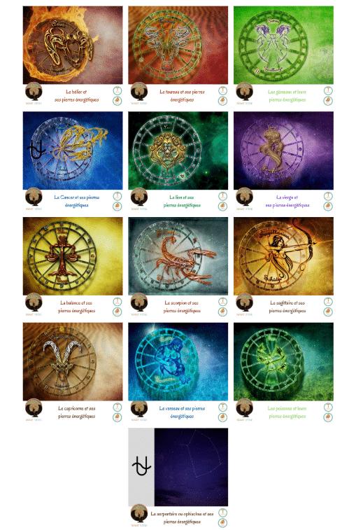 les signes astrologiques - Signes du Zodiaque