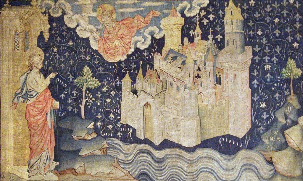 La Jérusalem Céleste - Tapissererie de l'Apocalypse - Anger XIV siècle - Octave 444